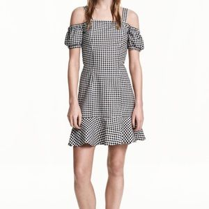 Divided HM Gingham Dress